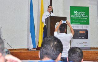 La Universidad de Córdoba hizo parte de los escenarios del XV Encuentro de la Red de Radio Universitaria de Colombia, en 2018, que fue instalado por nuestro rector, Jairo Torres Oviedo.