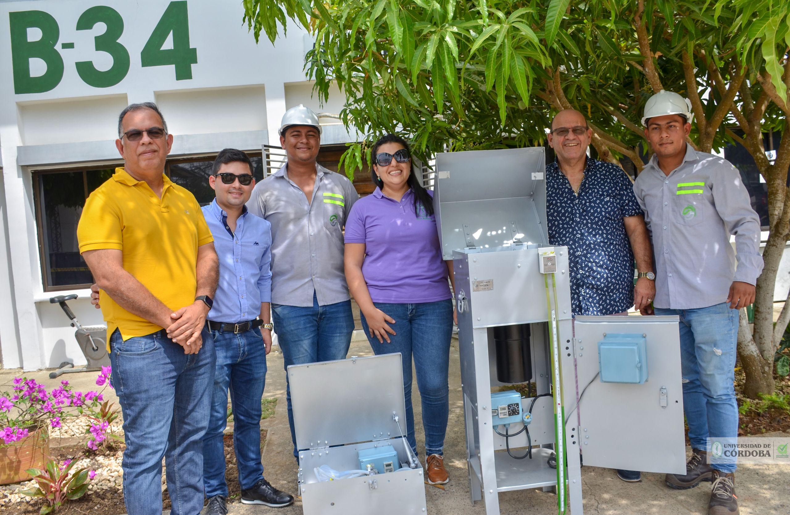 Los equipos fueron recibidos por el departamento de Ingeniería Ambiental