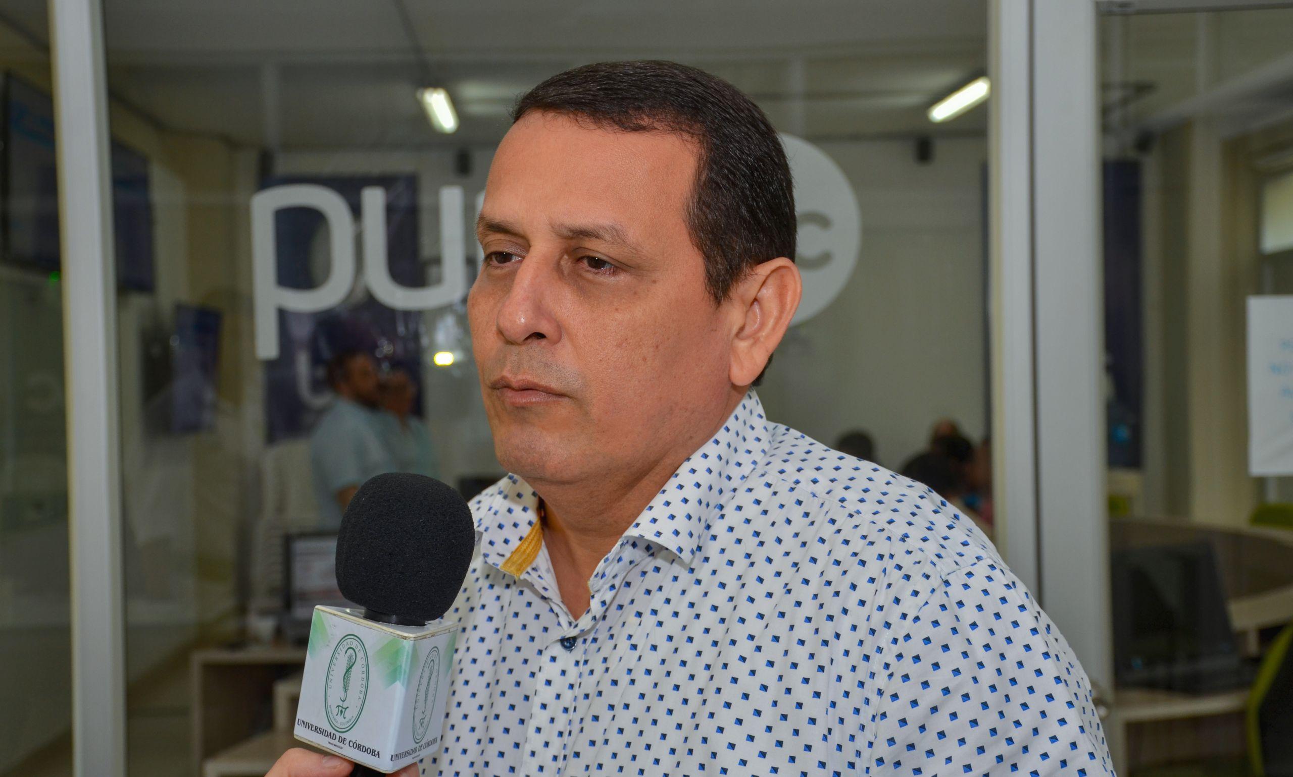 Giovanni Argel Fuentes, decano de la Facultad de Ciencias Económicas, Jurídicas y Administrativas de Unicórdoba.