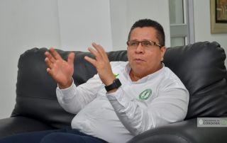 Jairo Torres Oviedo, rector