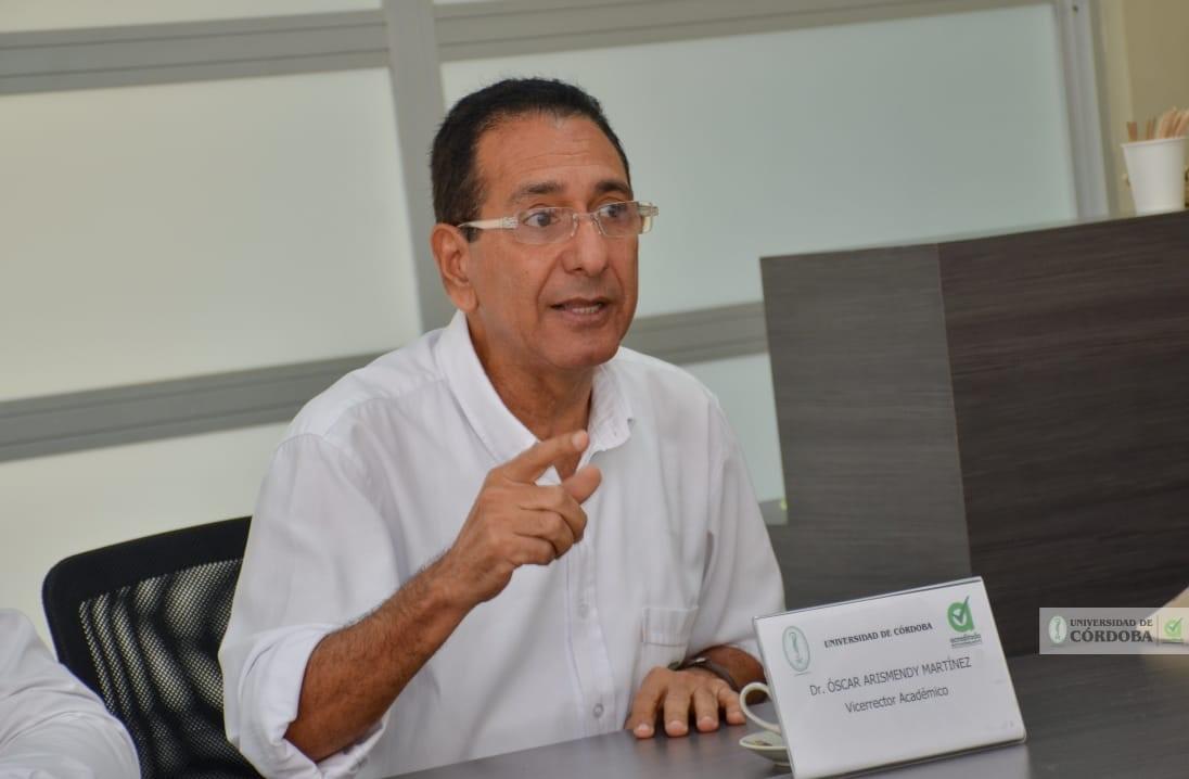 Óscar Arismendy Martínez, vicerrector Académico de Unicórdoba.