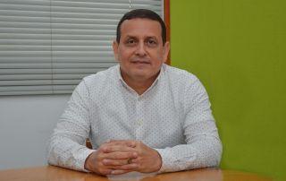 Giovanni Argel Fuentes, decano de la facultad de Ciencias Económicas, Jurídicas y Administrativas.