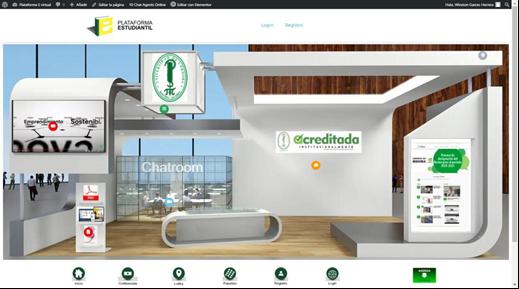 Este es el sitio online con el que los bachilleres del Caribe interactúan con la Unicórdoba, en el proceso de orientación para la escogencia de sus carreras.