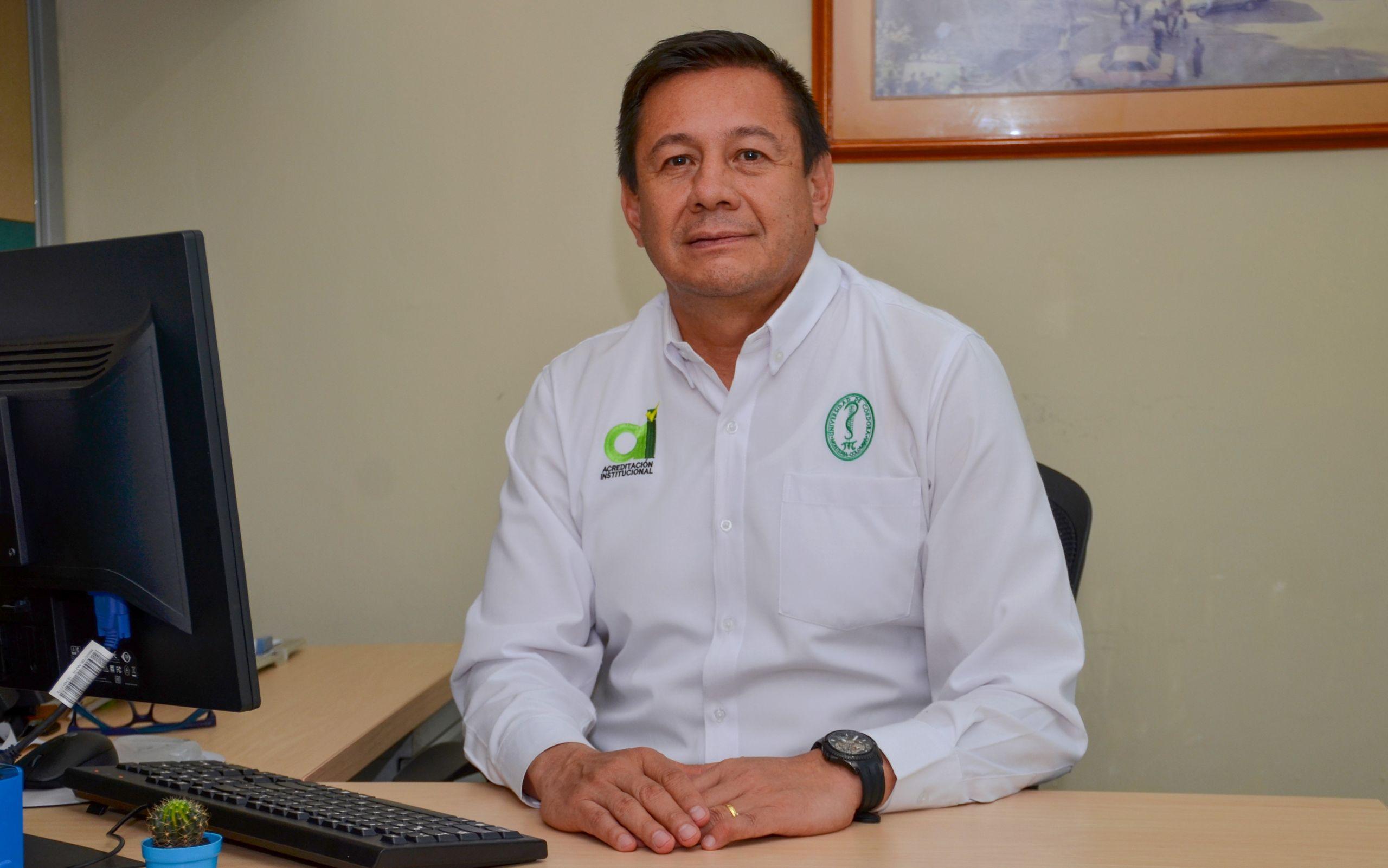 Gilmar Santafé Patiño, vicerrector de Investigación y extensión de la Universidad de Córdoba.