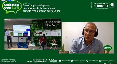 La Unicórdoba, a través del Cinpic, navega y estudia la cuenca del río Cauca desde hace varios meses.
