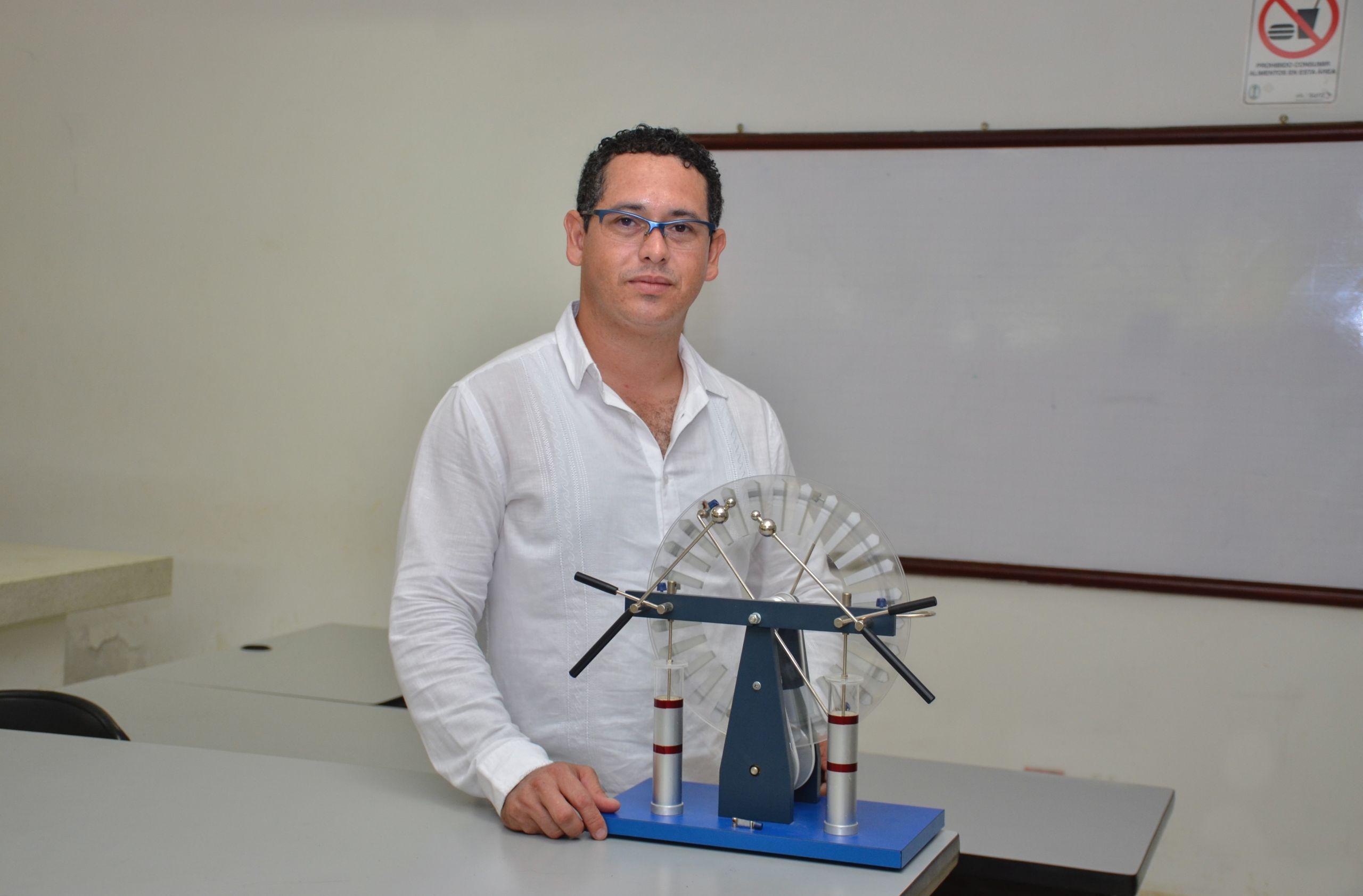 Hernán Garrido Vertel, científico de la Universidad de Córdoba.