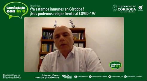 Salim Mattar Velilla, director del Instituto de Investigaciones Biológicas del Trópico, IIBT, de Unicórdoba.