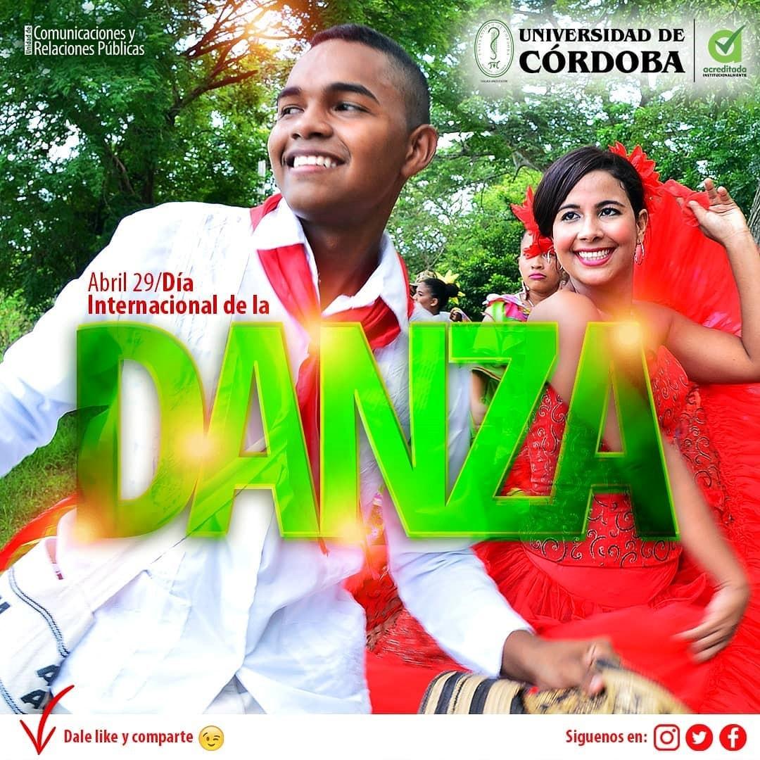 Con manifestaciones activas y vigentes, Unicórdoba, a través de su Área Cultural, ha conmemorado la Semana de la Danza.