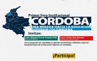 El foro ha sido diseñado por los 64 representantes estudiantiles y el rector, Jairo Torres Oviedo.