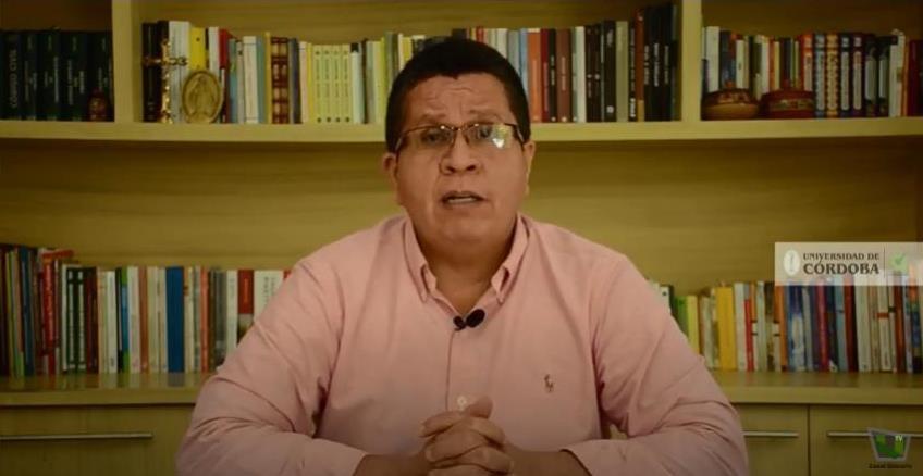 Jairo Torres Oviedo, rector de Unicórdoba.