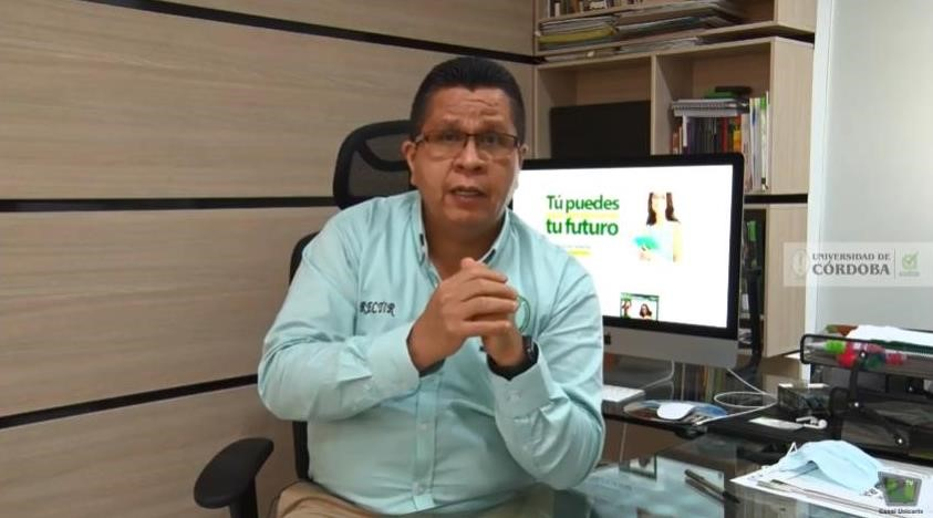 El rector de la Unicórdoba y presidente del SUE Caribe, Jairo Torres Oviedo.