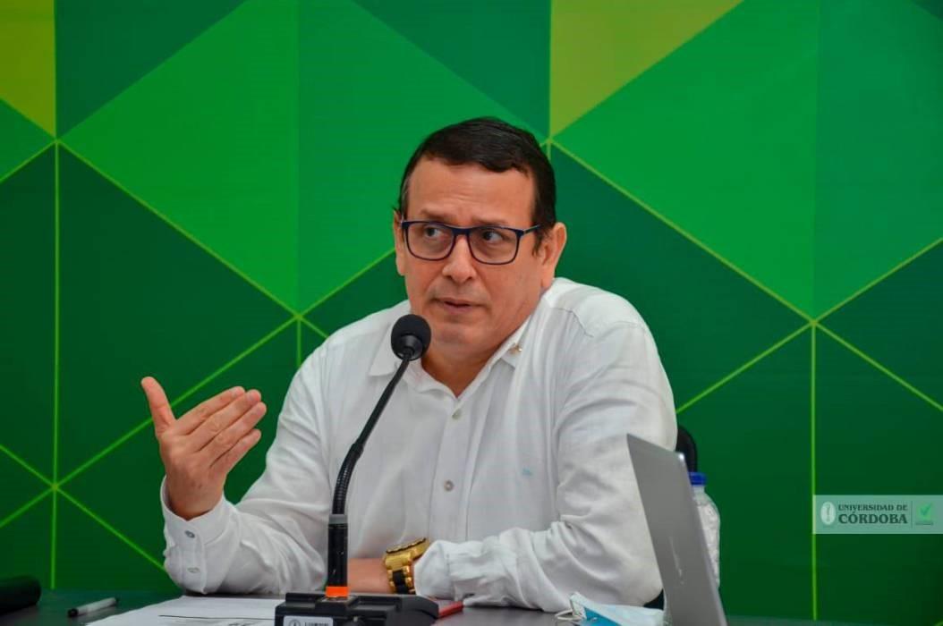 Giovanni Argel Fuentes, decano de la Facultad de Ciencias Económicas, Jurídicas y Administrativas (Faceja) de Unicórdoba.