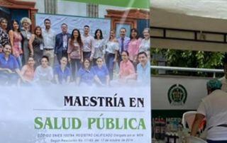 La labor de extensión la hizo Unicórdoba a través de la cohorte VII de la Maestría en Salud Pública.