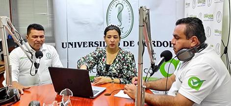 Actualmente la emisora ofrece contenidos también en su APP (Unicórdoba Estéreo) y en www.unicordoba.edu.co.